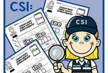 Kindergarten Sight Words /  Kindergarten Sight Word activities, centers, ideas, and resources for teachers. Teaching reading sight words to kindergarten in fun and meaningful ways: aligned with kindergarten reading standards - Read common high-frequency words by sight. - Distinguish between similarly spelled words.