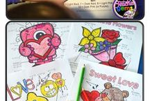 Coloring Pages for Teachers / colors for kids and color learning