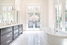 Chic Bathrooms / The ultimate in luxury, these spa-like bathrooms are built   for soothing tranquility.