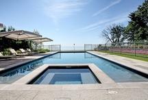 Beautiful Backyards / Stunning gardens, breathtaking views, and luxury swimming pools define these backyards.