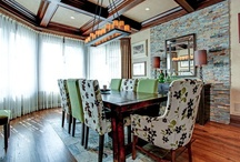 Delectable Dining Rooms / Enjoy your dinner in these delicious luxury dining rooms.