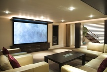 Snazzy Home Theatres  / Watch a movie or your favourite television show in one of these state-of-the-art home theatre rooms.
