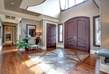 Grand Foyers / Luxury home foyers that make a statement right when you walk in the door.