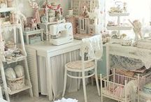 ART/CRAFT STUDIO & SEWING ROOM  IDEAS / IDEAS TO ORGANIZE THE ART STUDIO, CRAFT ROOM AND SEWING ROOM ETC.    GETTING AND BEING ORGANIZED IS PART OF THE FUN TOO!