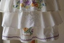 APRONS - THE NEW TREND! / Aprons - the practical and pretty!