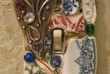 MOSAIC / Beauty from broken china and other bits and pieces.