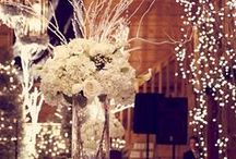 Baby its Cold Outside, Winter Wedding Ideas / Winter is a magical time to get married, depending on where you are you could be lucky enough to have snow, the most natural of all scenic decorations one could ask for. dont forget most halls and churches are allready decorated for this magical season... Helps cut the cost of decorations... / by Kimber Malar