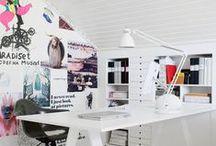 Interiors - Desk Spaces