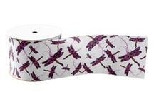 GIFT WRAP AND RIBBONS DESIGNED BY SANDRA FOSTER / Gift wrap and ribbons designed by Sandra Foster.