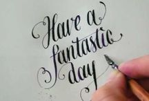 Calligraphy & Hand Lettering / by Sarah Harbuck