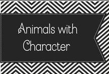 Animals with Character / Cute pictures of animals.