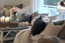 Living room ideas / by Southbound Hippie, LLC
