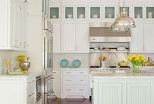 Kitchen / For my birthday I want an all white kitchen, with cute accessories. (and clothes, duh.) / by Leslie Christensen