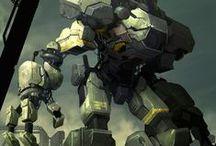 Robots & mechanics