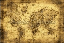 Maps & Globes / Maps and globes, new and old / by Alaina Burnett