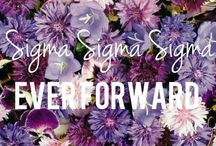 It's a Sigma thing ΣΣΣ / by Angel Myers
