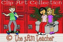 Kids Clip Art / Thank you for visiting! The 3AM Teacher Clip Art original illustrations by Michelle Tsivgadellis. Custom, hand-drawn clip art for teachers, crafters and TPT sellers.  Commercial use okay {restrictions apply}. Visit my complete terms of use on my website by clicking the link here:  http://www.3amteacher.com/clipart-terms-of-use.html