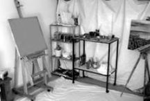 For the Home: Studio space and Office / Studio Space and Office decor and tools / by Bekah Freeman
