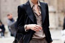 Women in Menswear