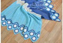 Baby blankets by Gerberahandmade