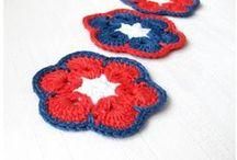 Crochet coasters by Gerberahandmade / Gifts