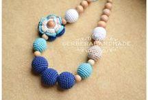 Nursing necklace by Gerberahandmade