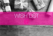 Wish List / Whether it be for Christmas or Birthday's, everyone has a wish list. Here are a few of the things we are lusting after right now..