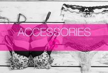 Accessories / For all your lingerie accessory needs. From tights, to nipple covers. You name it, we got it!