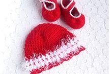 Crochet baby hats by Gerberahandmade