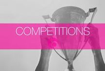 Competitions / Keep your eyes pealed for any future competitions, you may just be the lucky winner!