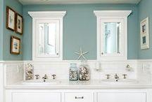 Necessary Room (aka bathroom) / Bathroom decor and helpful hints / by Samonia Byford