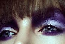 The Eyes / Amazing eye makeup / by Jesca Cluff