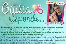 Giulia Risponde - l'ostetrica a portata di click! / Domande dubbi sulla gravidanza e dintorni. :)
