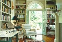 Home Libraries / I adore home libraries. Don't You?