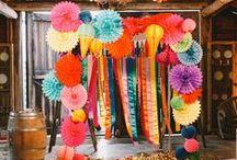 Colourful Wedding!