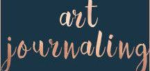 Art Journaling / Beautiful art pages along with tips and tutorials for other multi-media art. Art journaling is a great way to practice self care and build up self love.