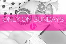 Only On Sundays / The only things you're allowed to do on Sundays