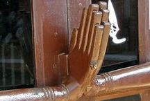Kilincsek a nagyvilágból - Handles all around the world / Különleges kilincsek - Unique handles
