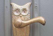 Állati kilincsek! - Animal figure door handles