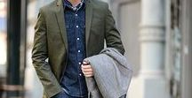 Modern Olive / Men's trending color: Olive green