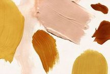 Color Palettes / Beautiful color schemes for weddings, bedrooms and art pieces.