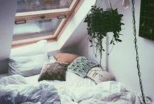 bed / Where I lay my head
