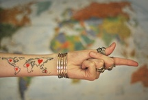 Tattoos and piercings / by Kathryn Case