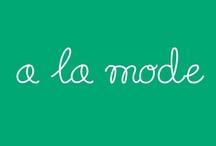 A la mode