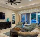 Living Areas / Living areas in All Star vacation homes