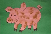 |LIBRARY| Kids Crafts / Ideas for library storytime/program crafts