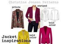 boyfriend blazer inspiration / by Christine Jonson Patterns