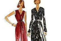 Wrap Dress Inspirations / by Christine Jonson Patterns