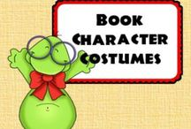 Book Character Costumes / As an elementary school librarian, The Library Patch knows that there may always be a time when teachers and librarians need a good costume.  / by Library Patch