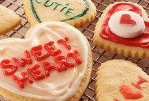 """Valentine's Day Recipes / Nothing says """"I love you"""" like baking treats or making a delicious meal for the ones you love."""